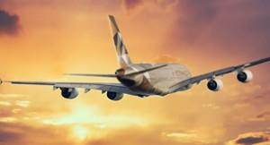 The Villa Collection Etihad Airways sunset