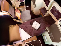 The Villa Collection Etihad Business Class