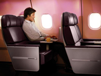 The Villa Collection Virgin Atlantic Premium Economy Class