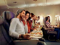 The Villa Collection Emirates Airline Economy Class